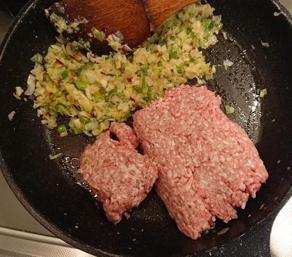 納豆入り肉そぼろご飯7