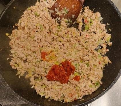 納豆入り肉そぼろご飯8