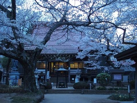 武川町の実相寺