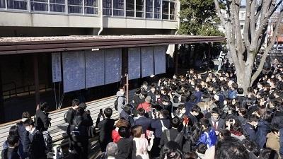20190308県立浦和合格発表(平成31年3月8日)
