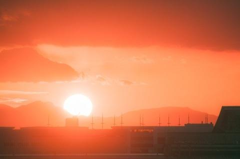 190307 夕陽