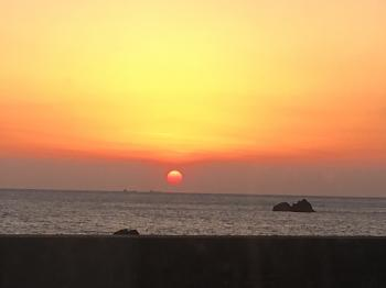 夕陽350