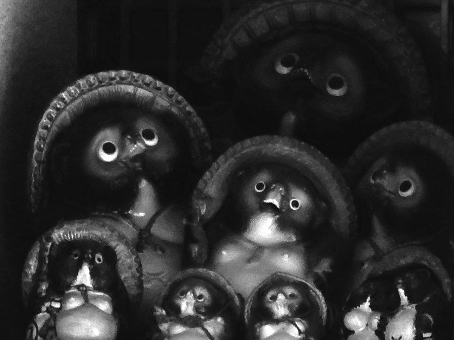 闇の狸たち