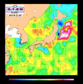 海水温 3 22