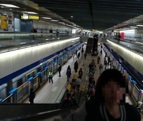 2 MRTの站の乗換
