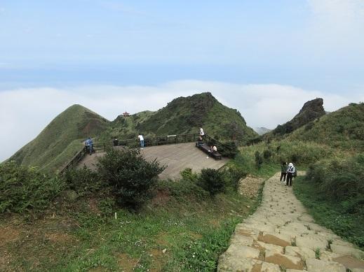 20 登山道の景色