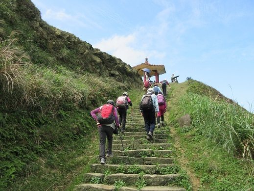 22 登山道の景色