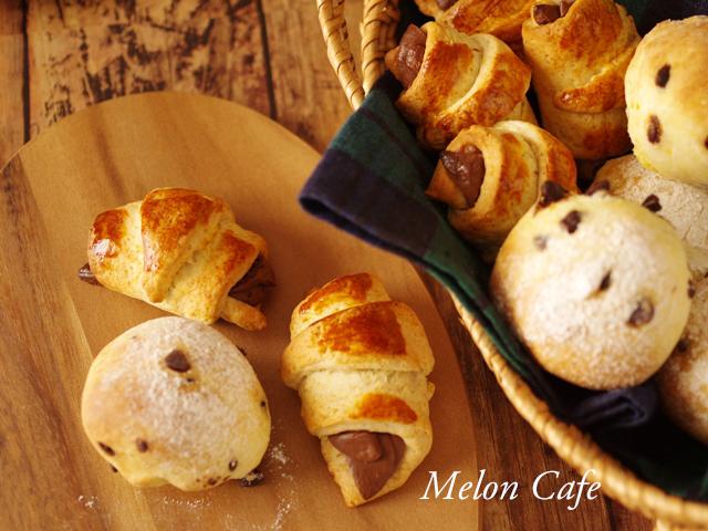 ホットケーキミックスでカフェ朝食パン2種02aaa