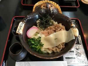 花山うどん_鬼ひも川麦豚(冷)