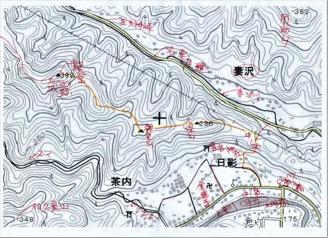 ☆リュウガイ城跡 地図img024