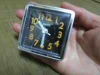 手に平サイズ 置時計