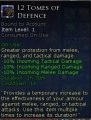 Tomes of Defence