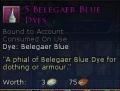 BELEGAER BLUE DYE