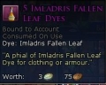 IMLADRIS FALLEN LEAF DYE