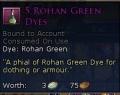 ROHAN GREEN DYE