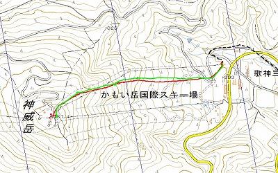 神威岳log