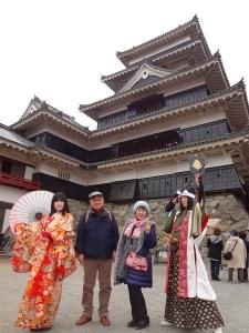 白樺リゾートと松本城1