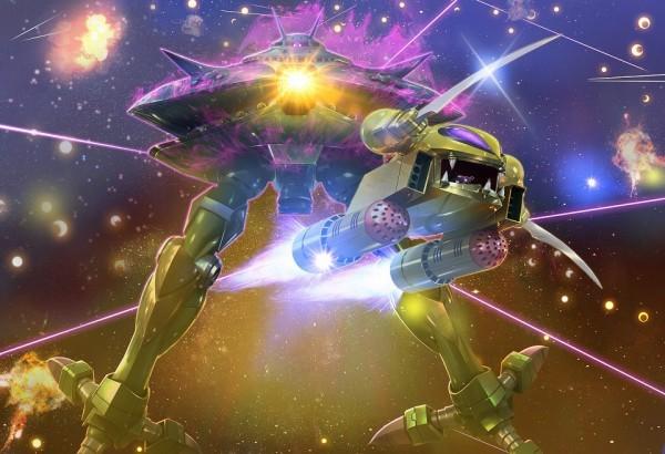 基本プレイ無料のブラウザ戦略シミュレーションゲーム『ガンダムジオラマフロント』 リプレイド作戦ガシャ「ソロモン攻略戦」を開始