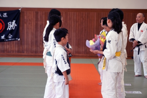 強化練習・卒団式