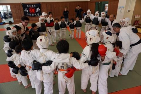 「みんなで強くなる!」全国少年大会一週間前強化練習