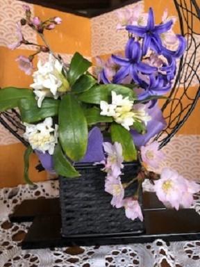 いっせいに開花