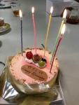 典子BDケーキ