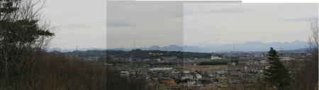 190323庚申山 (18)荒船山~浅間隠山s