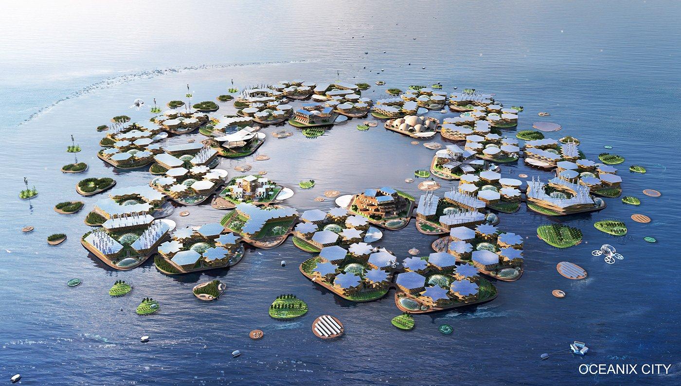 【未来都市】国連「海に浮かぶ水上都市を作ります」とその計画を発表