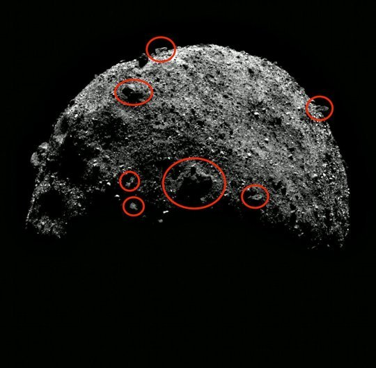 【エイリアン】NASAが公開した小惑星画像に「宇宙人の構造物らしきもの」が映り込んでいるのを多数発見!