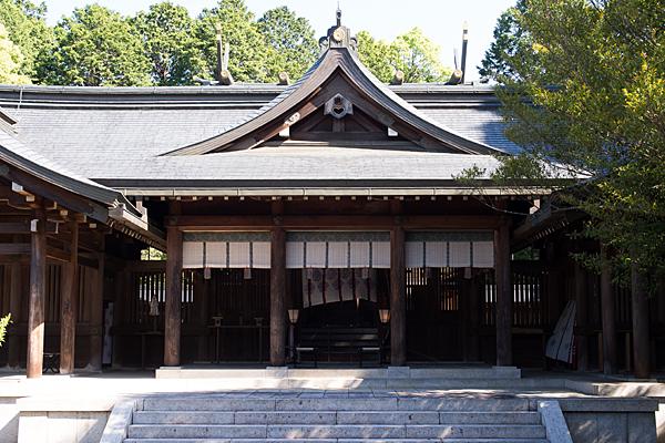 吉野神宮拝殿