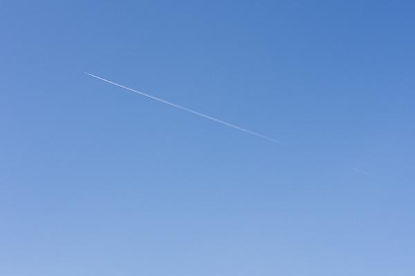 飛行機と空4