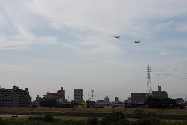 飛行機と空5