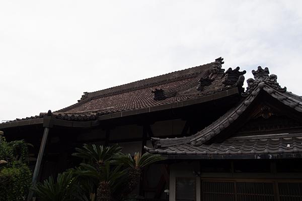 清音寺屋根
