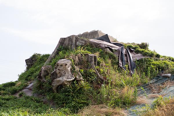 富塚古墳山頂