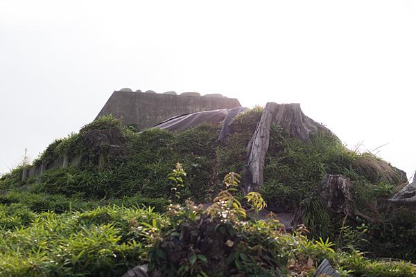 富塚古墳全景
