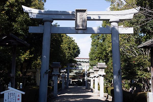 島田神社入り口鳥居
