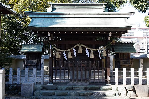島田神社天神社と天王社と秋葉社