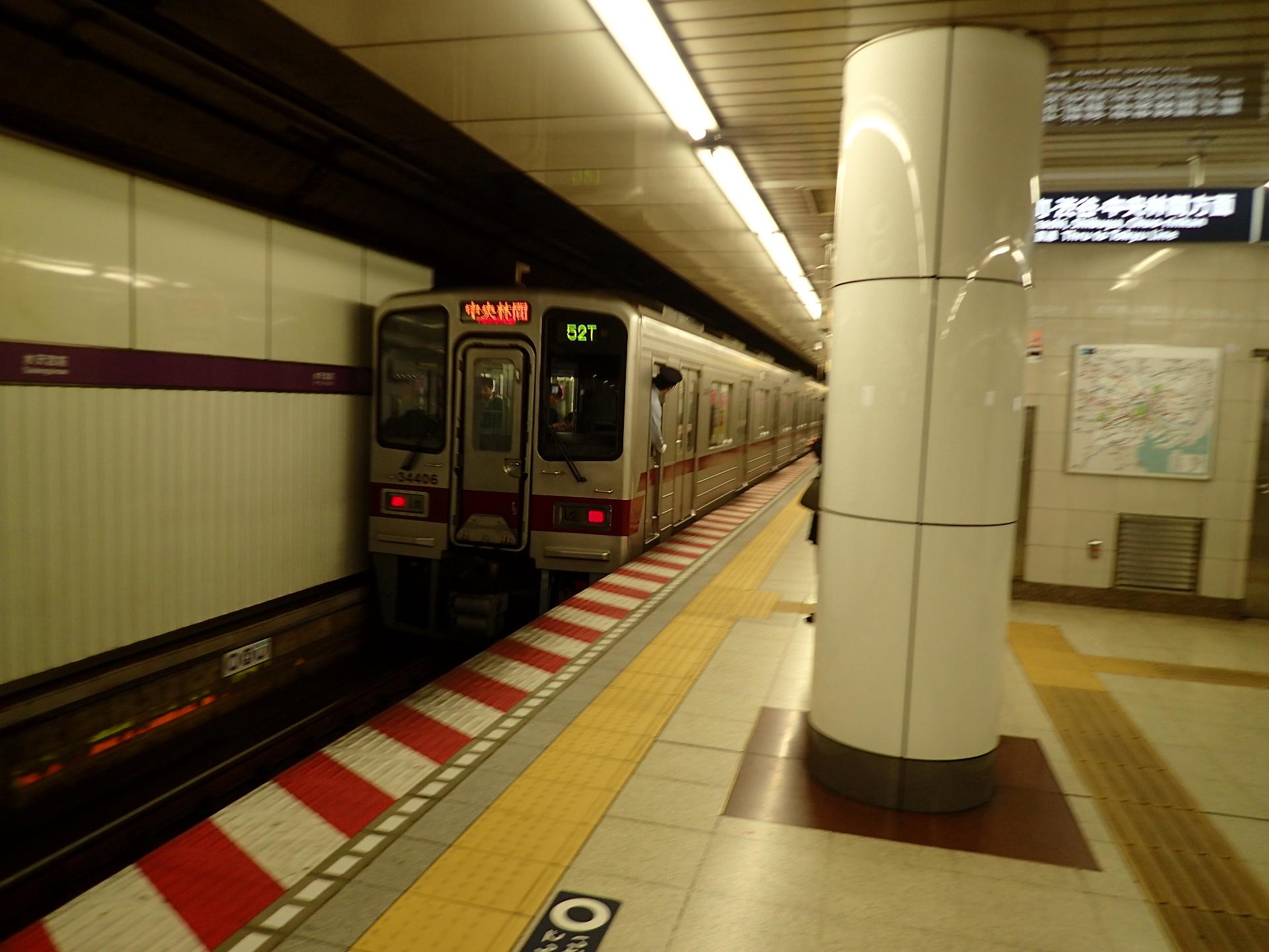 東武30000系前期型・地下鉄乗入編成です。