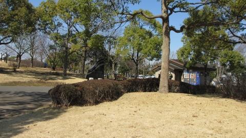 平成の森公園で少し休憩
