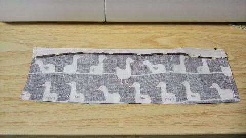 三方縫い終わりました。