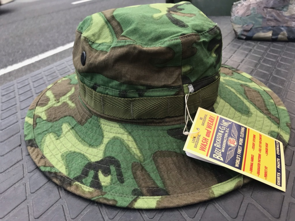 MI01AHA BUZZ RICKSONS BR02585 HAT CAMOUFAGE TROPICAL COMBAT TYPE2 (3)