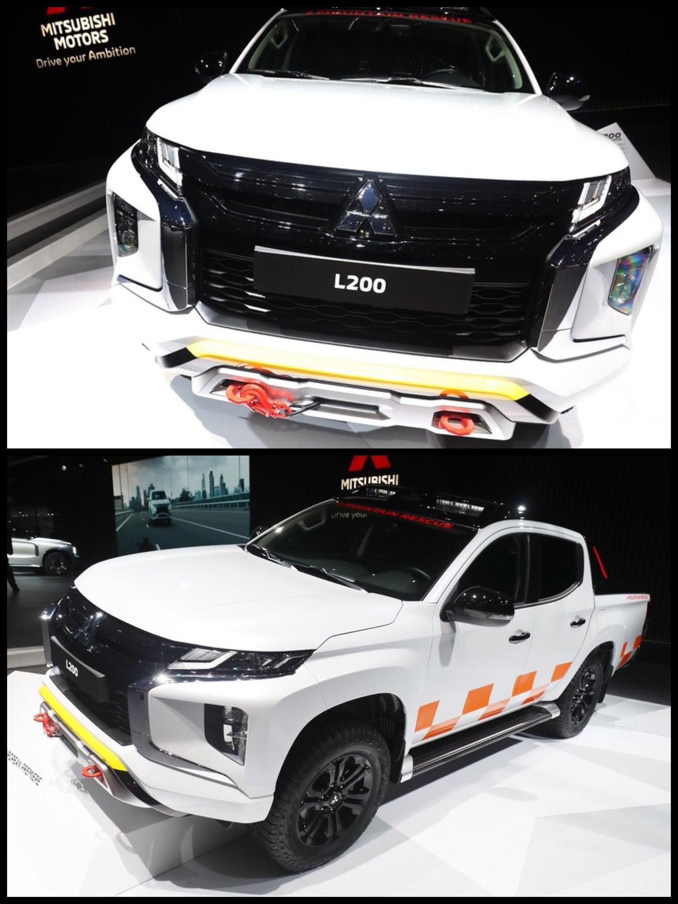 三菱 新型トライトン 『L200』2020モデル ジュネーブ