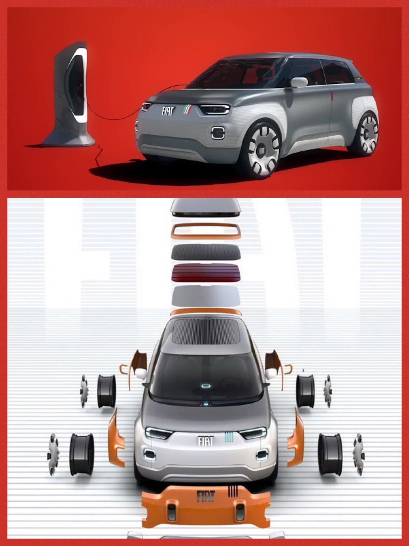 フィアット EV 「コンセプトチェントヴェンティ」FIAT