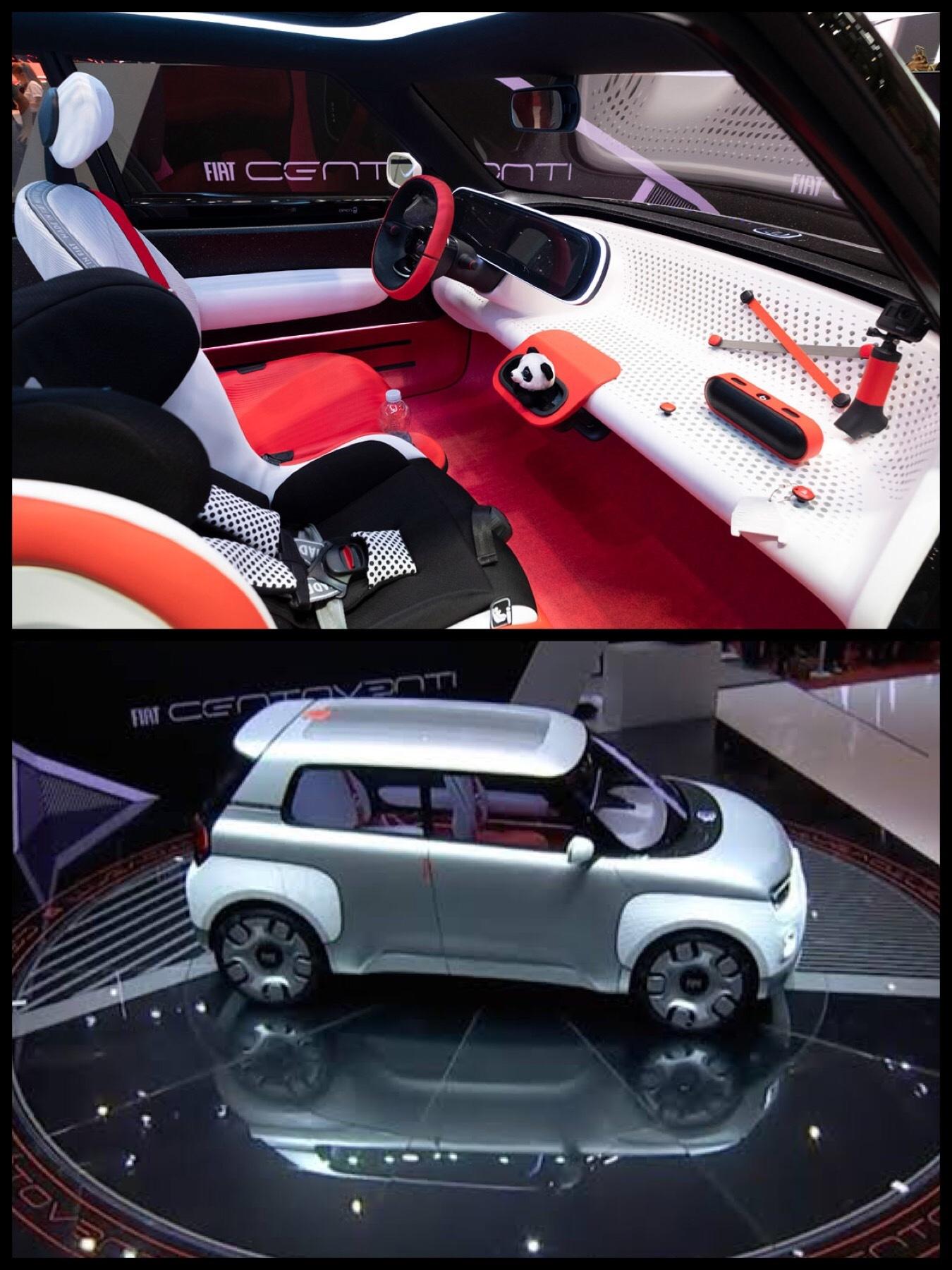 フィアット EV 「コンセプトチェントヴェンティ」 FIAT
