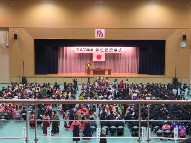 卒業式 大学 末娘