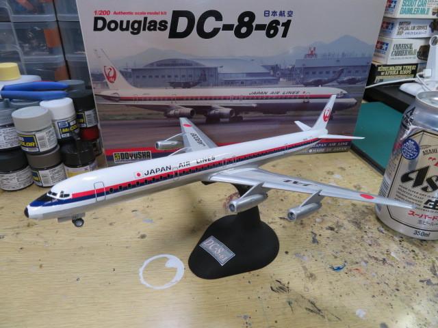 DC-8-61 1/200 の4
