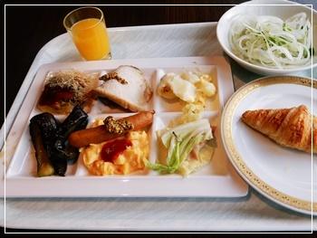 2日目の朝食