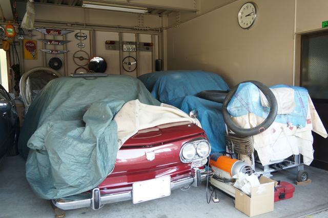 日野に住む日野マニア様の車庫
