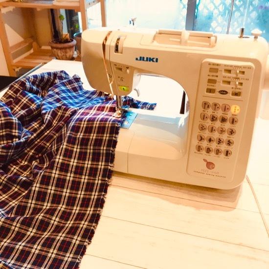 久しぶりのミシン!大物縫いをしました