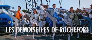 ロシュフォールの恋人たち 「トランスボドゥール橋」Le pont transbordeur